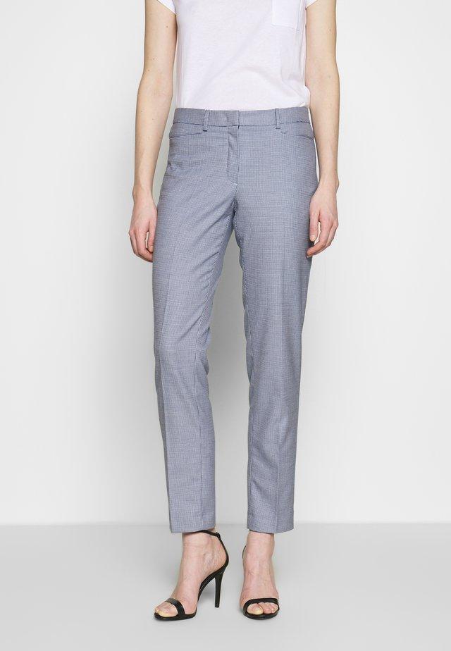 TROUSER - Trousers - marine multicolor