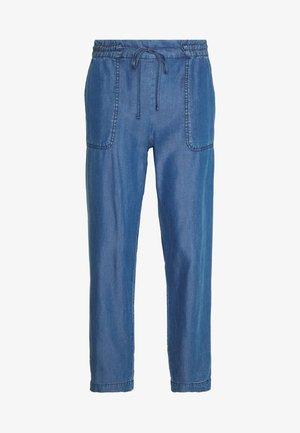 TROUSER - Trousers - denim blue
