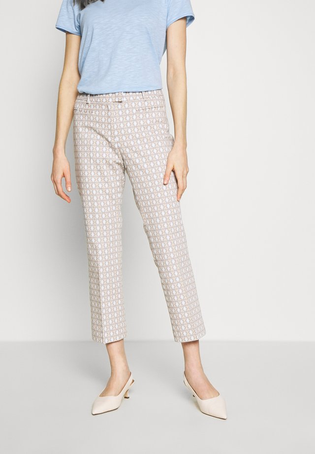 TROUSER - Trousers - desert brown/multicolor