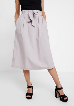 SKIRT MIDI - A-Linien-Rock - seashell