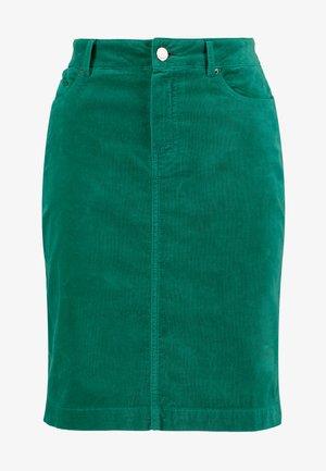 SKIRT SHORT - Minigonna - emerald green