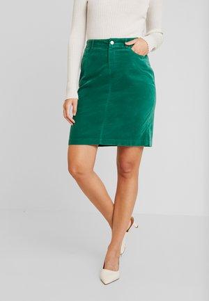 SKIRT SHORT - Miniskjørt - emerald green