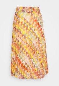 More & More - SKIRT MIDI - A-line skirt - rose peach multicolor - 1