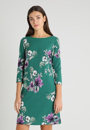 Day dress - brilliant green mult