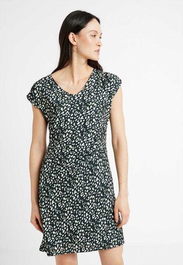 DRESS  - Jerseyjurk - off white/multicolor