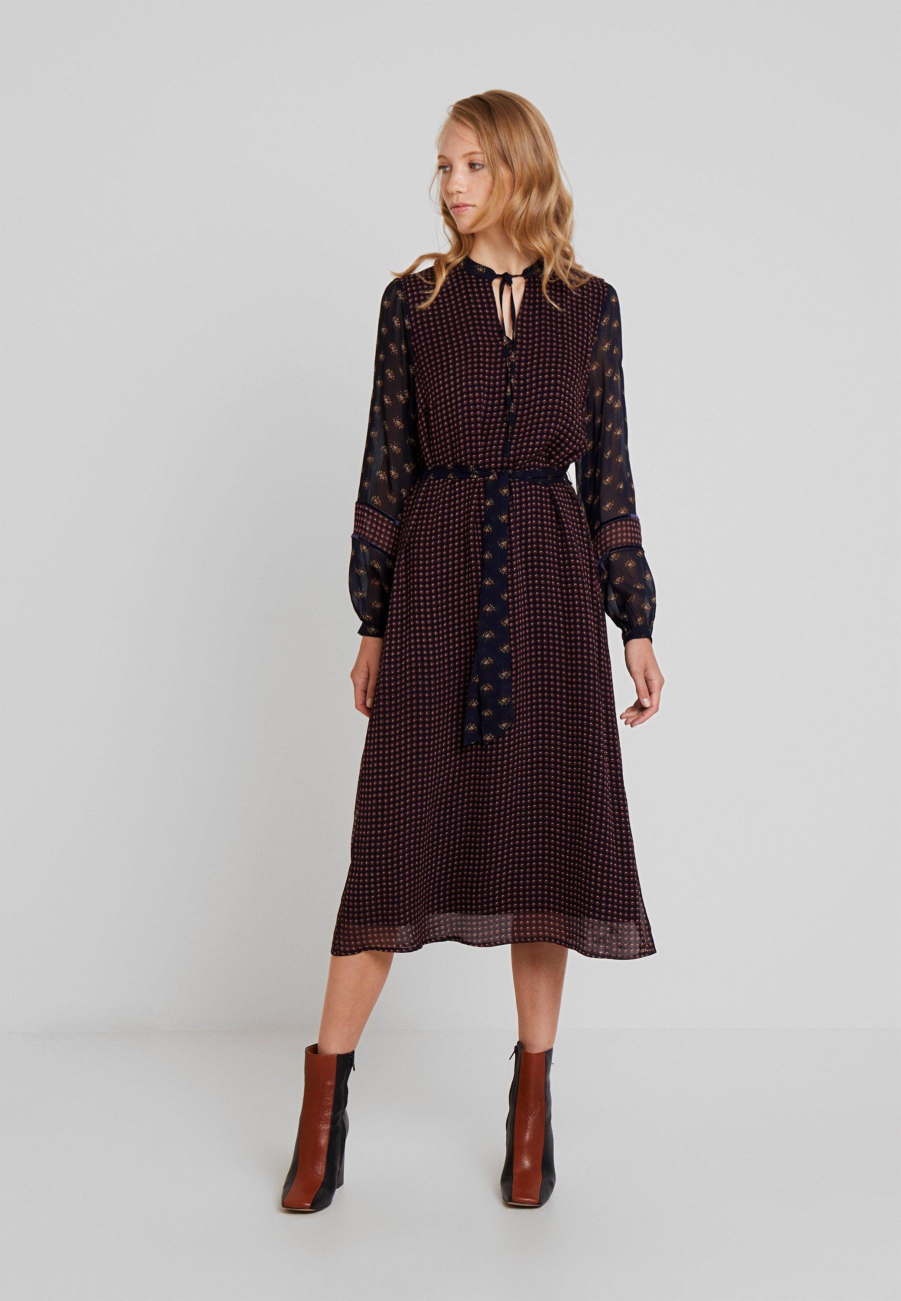 Moreamp; Robe Robe LongueMarine Moreamp; Multicolor LongueMarine NnO8w0vm