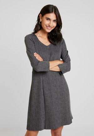DRESS SHORT - Jerseyjurk - black/multicolor