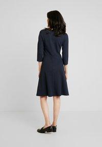 More & More - DRESS INTERLOCK - Robe pull - marine - 2