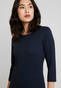 More & More - DRESS INTERLOCK - Robe pull - marine - 3