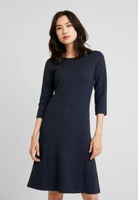 More & More - DRESS INTERLOCK - Robe pull - marine - 0
