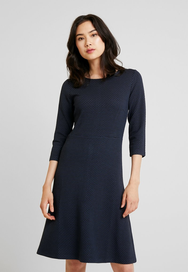More & More - DRESS INTERLOCK - Jumper dress - marine