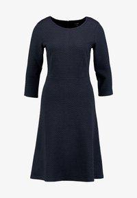 More & More - DRESS INTERLOCK - Robe pull - marine - 4