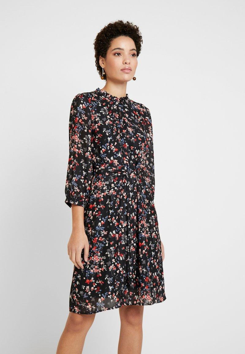 More & More - DRESS - Kjole - chilli/peach/multicolor