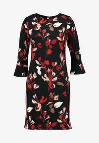 More & More - DRESS INTERLOCK - Day dress - black multi - 6