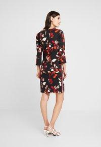 More & More - DRESS INTERLOCK - Day dress - black multi - 3