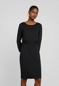 More & More - DRESS - Etuikjole - black - 0