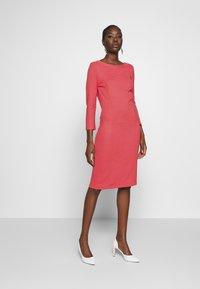 More & More - DRESS - Strikket kjole - soft raspberry - 1
