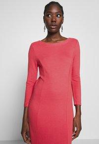 More & More - DRESS - Strikket kjole - soft raspberry - 3
