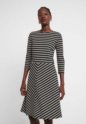 DRESS INTERLOCK - Day dress - black