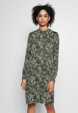 DRESS SHORT - Kjole - crema multi