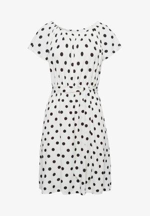 INTERLOCK - Jersey dress - offwhite