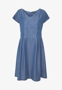 More & More - DRESS SHORT - Dongerikjole - denim blue - 4