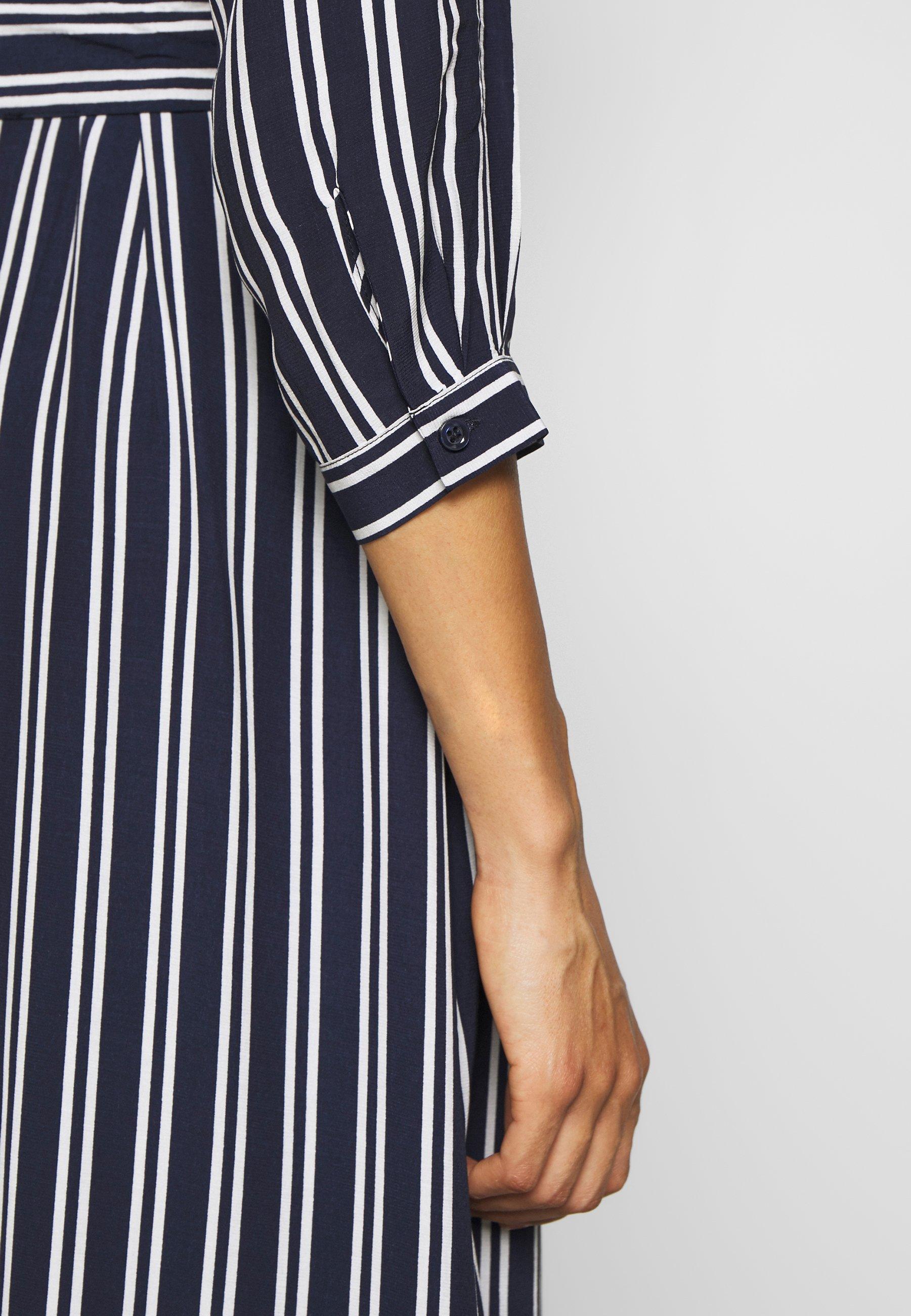 More & More DRESS LONG - Abito a camicia - marine