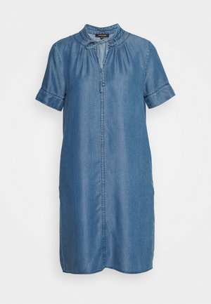 DRESS - Denim dress - denim blue