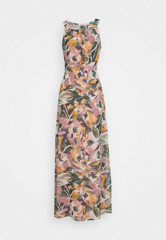 DRESS LONG - Maxiklänning - mauve/multicolor