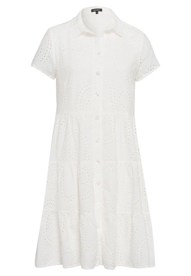 Shirt dress - weiãŸ