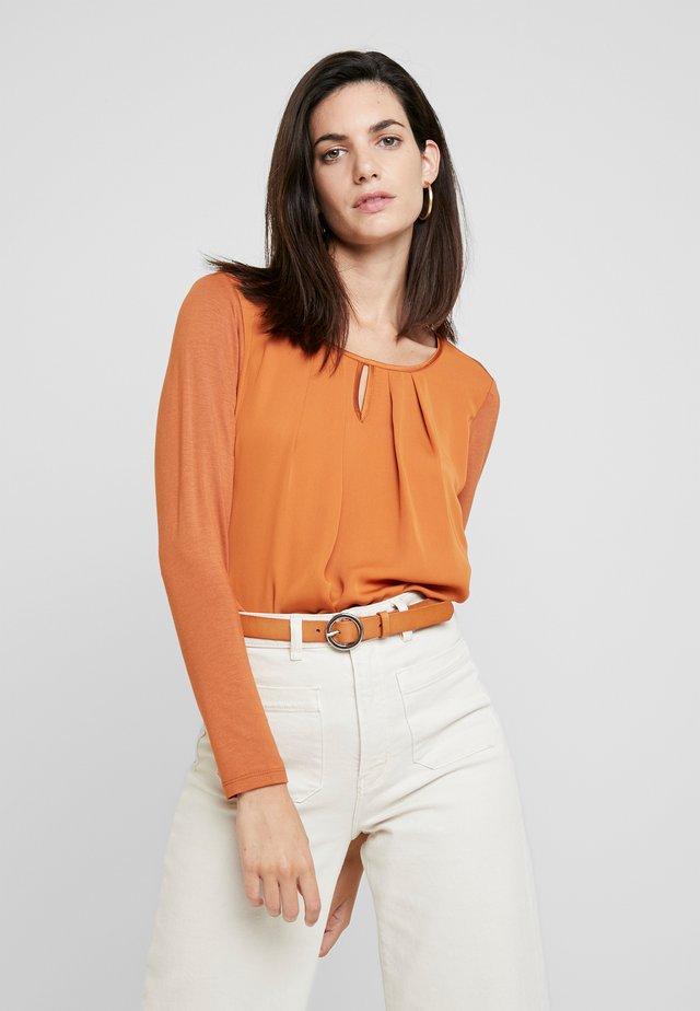 1/1 ARM - Bluse - pumpkin orange