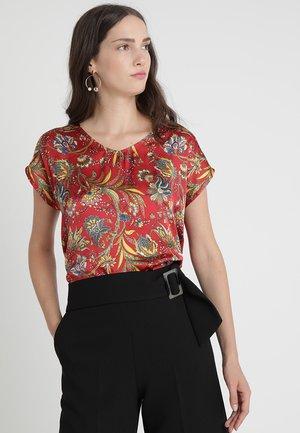 Blouse - dark red/multicolor