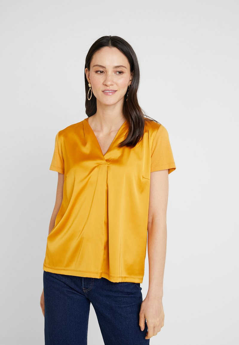 More & More - Blouse - autumn yellow