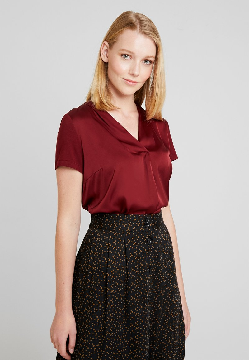 More & More - Bluse - wine red