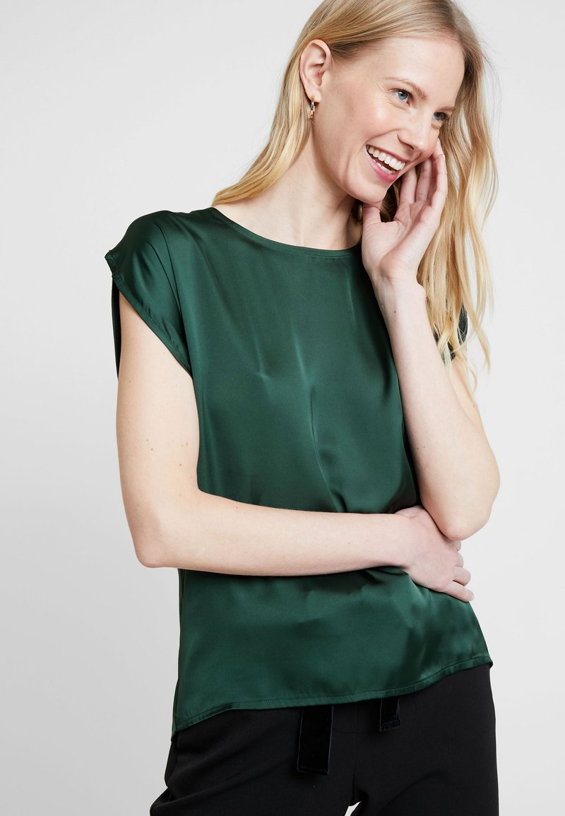 More & More - Bluse - tropical green