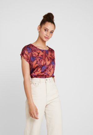 Blouse - wine red/multicolor