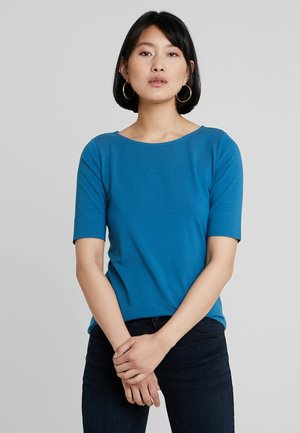 T-shirts basic - blue petrol