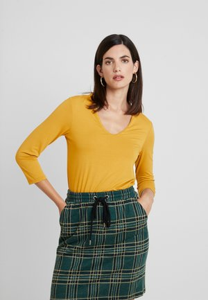 Long sleeved top - autumn yellow