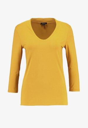 Långärmad tröja - autumn yellow