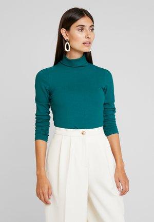 Pullover - emerald green
