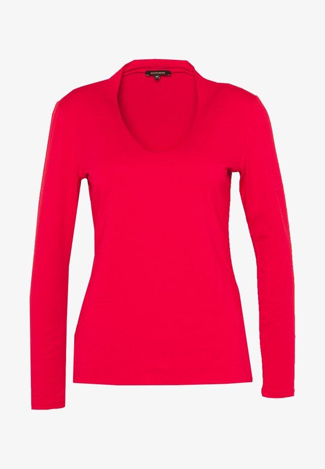 Långärmad tröja - granate red