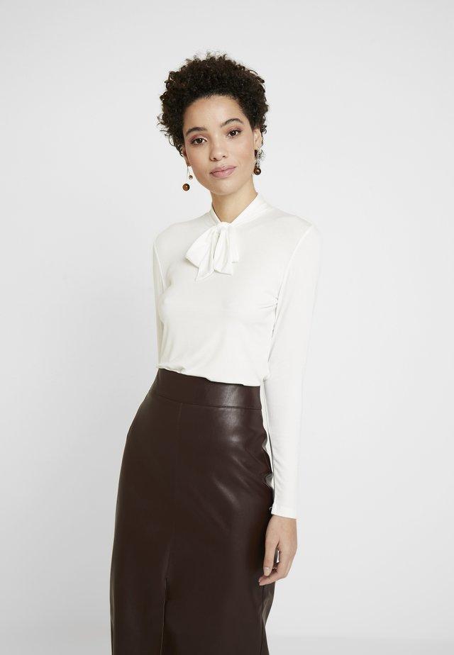 SLEEVE - Långärmad tröja - off white