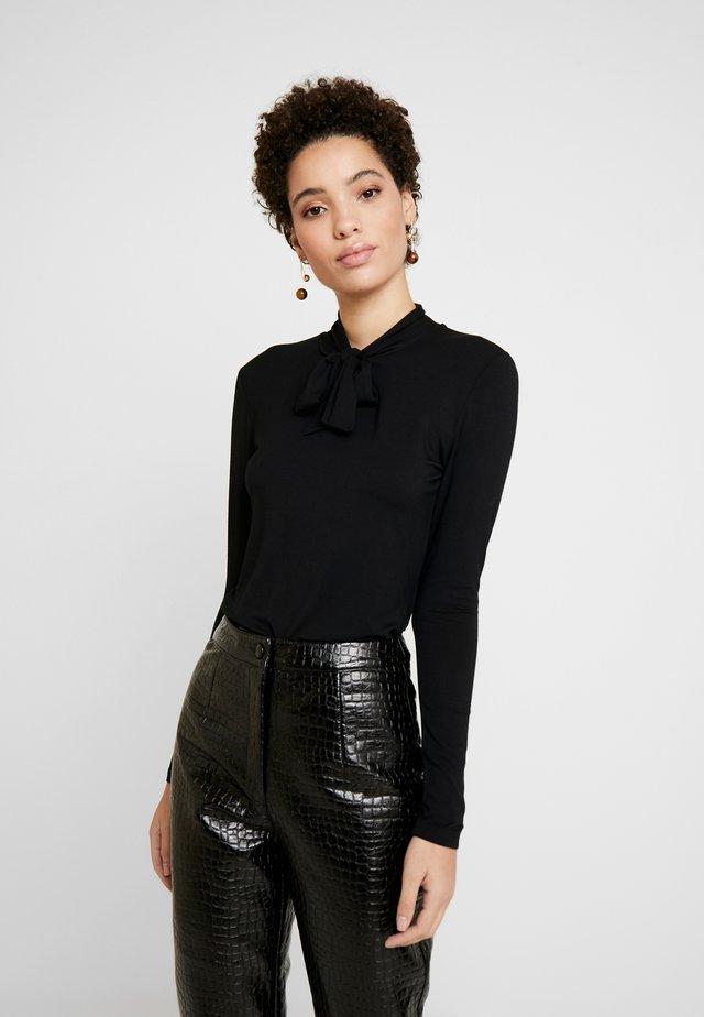 SLEEVE - Långärmad tröja - black