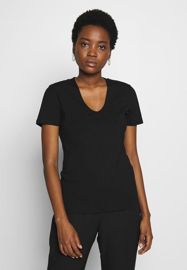 SLEEVE - T-shirt basique - black