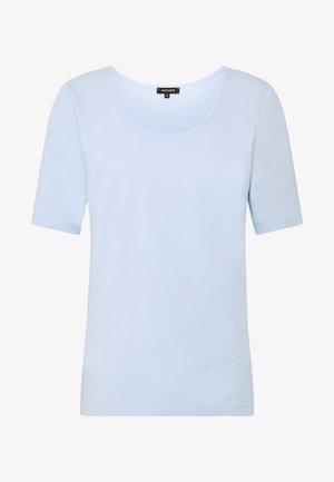 Jednoduché triko - pleasure blue