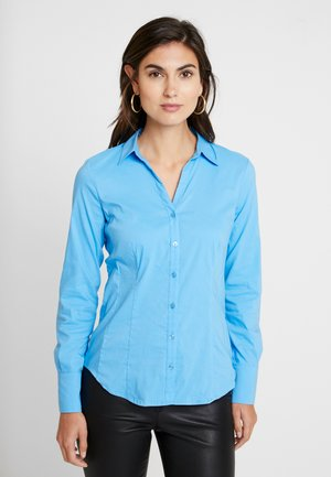Button-down blouse - winter blue
