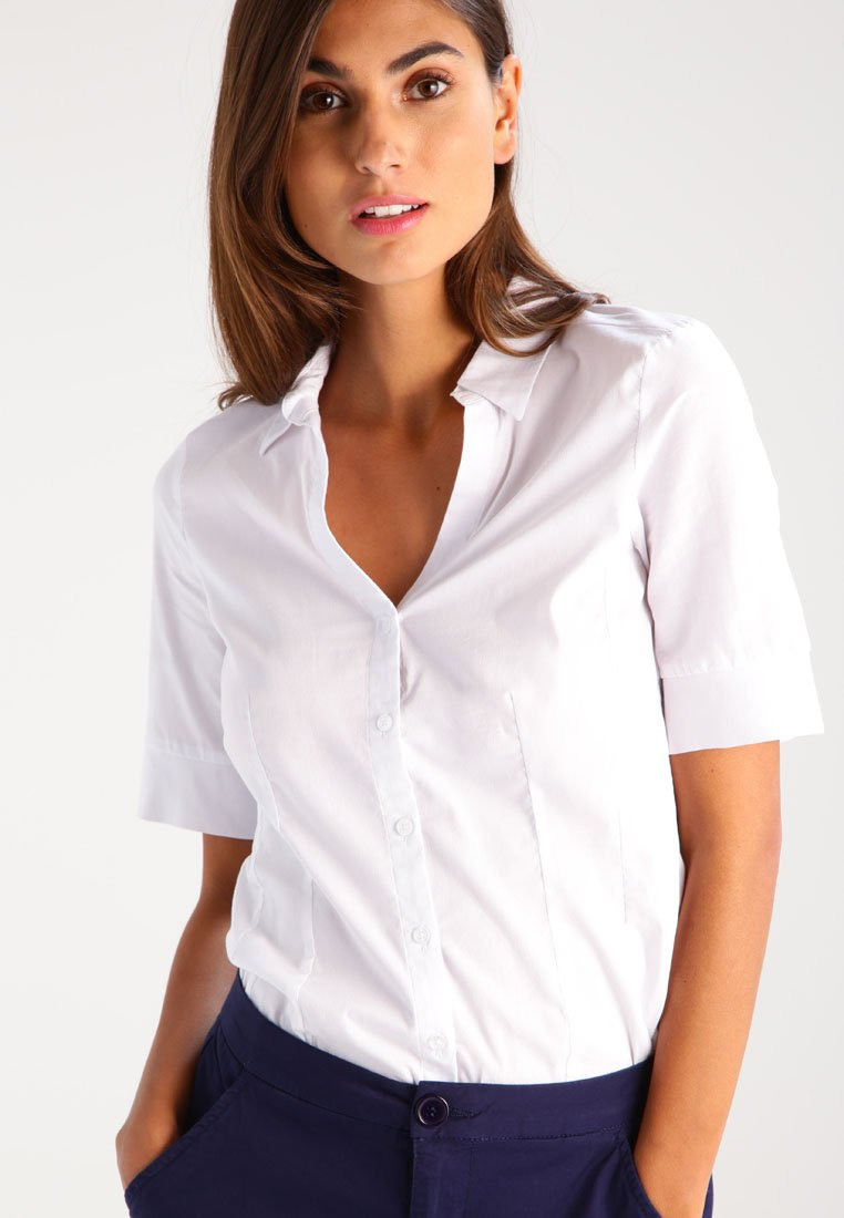 More & More - Button-down blouse - white
