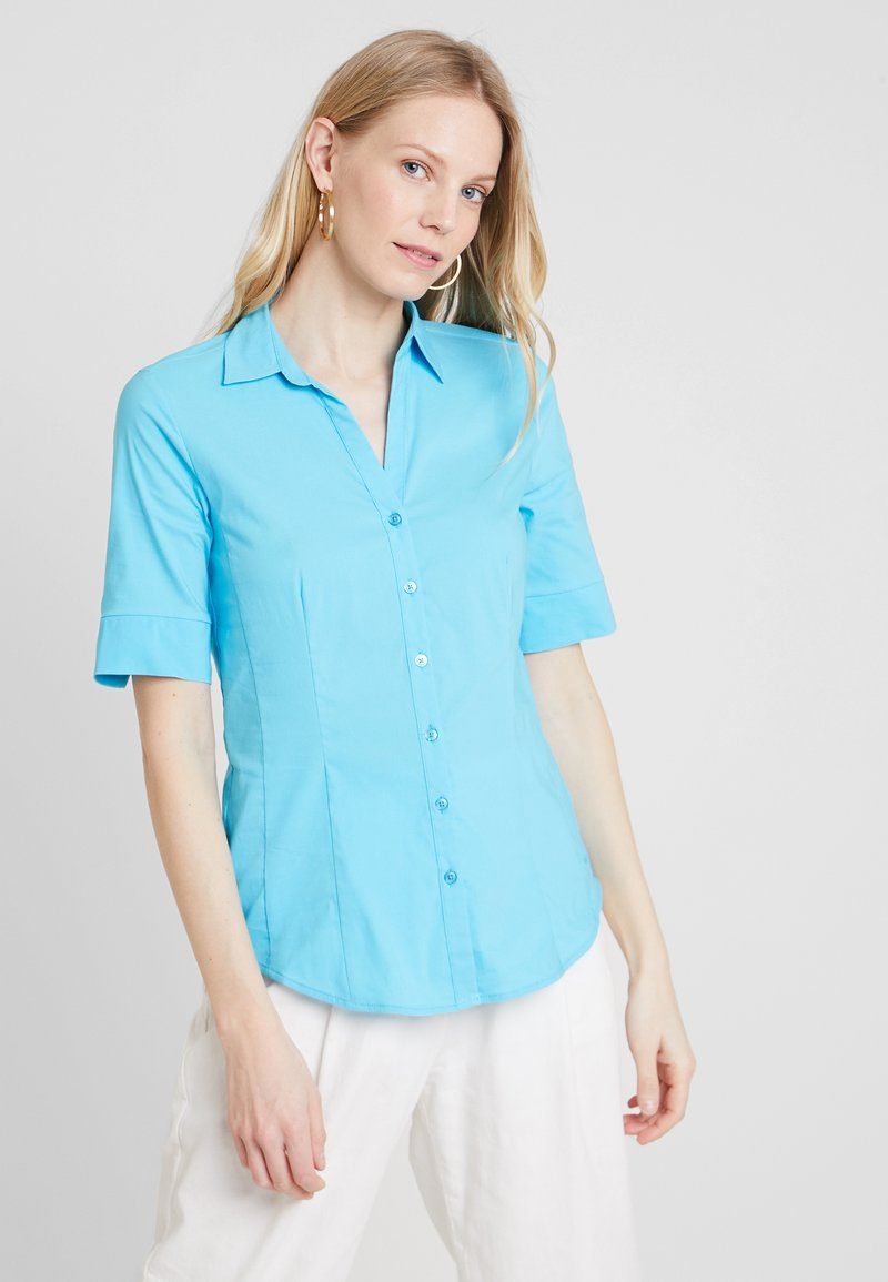 More & More - Button-down blouse - lagoon turquise