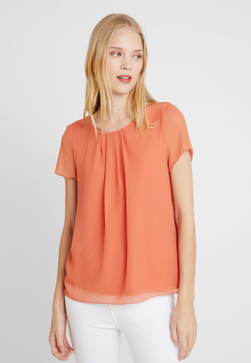 More & More - Bluse - smooth orange