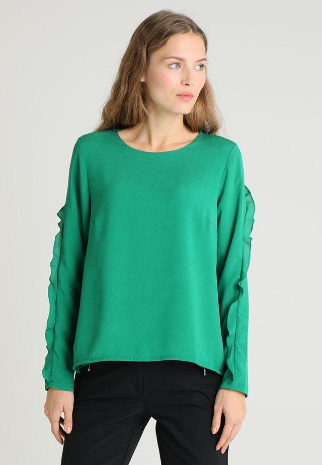 Bluse - brilliant green